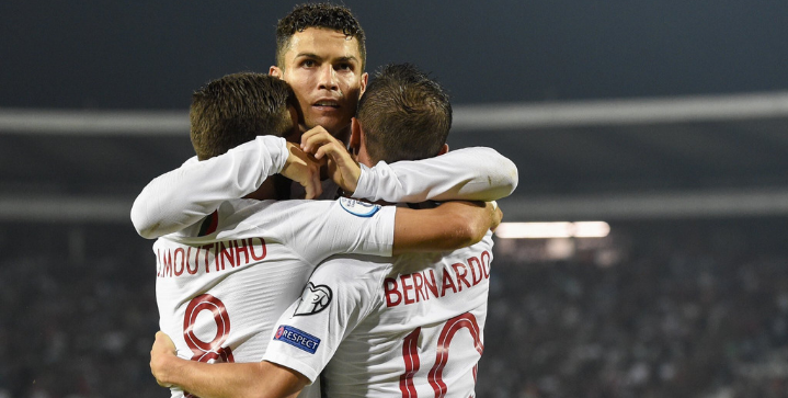 Cristiano Ronaldo scores four in Portugal win over Lithuania