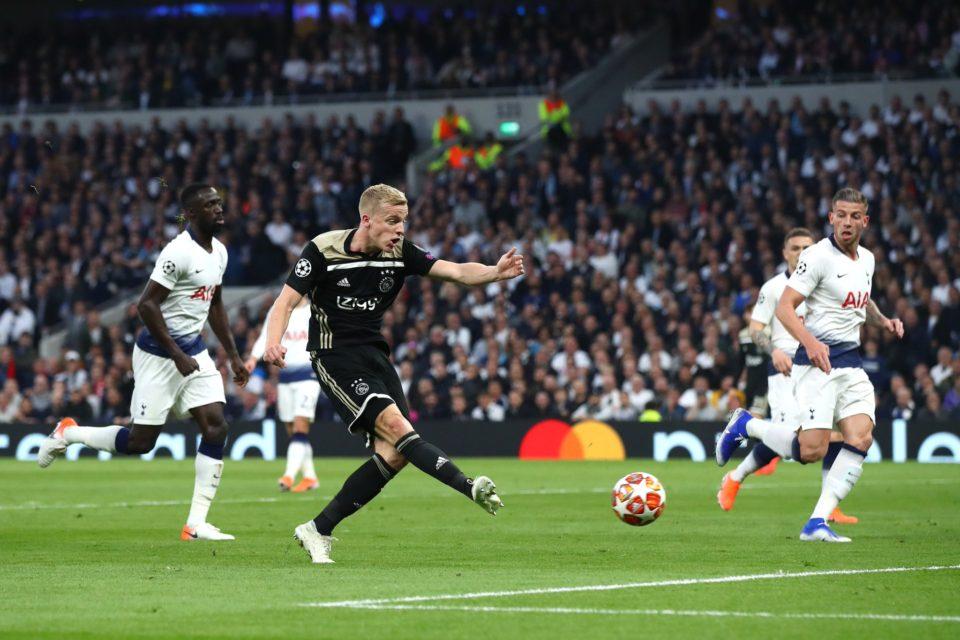 Ajax defeat Tottenham 1-0, win three away in Champions League