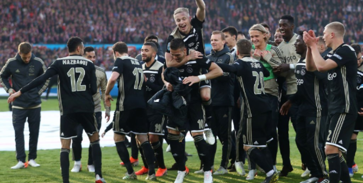 Ajax win their first trophy in 5 years, the first of a famous treble?