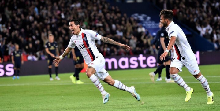 Angel Di Maria helps PSG thump Real Madrid in Champions League opener