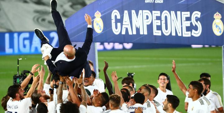 zidane 34 la liga titles