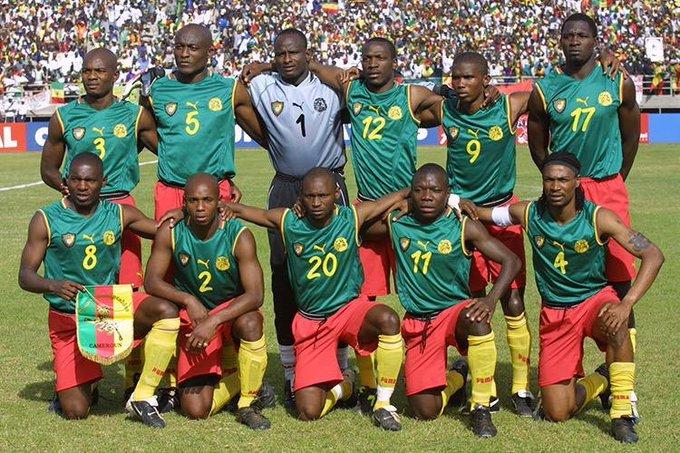 Cameroon vests