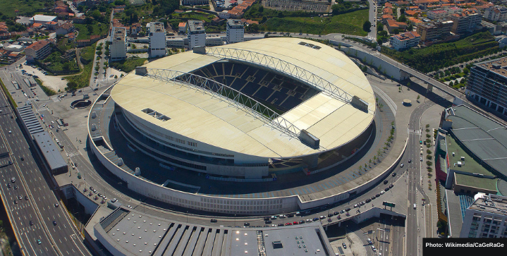 Champions League final moved to Estádio do Dragão in Porto