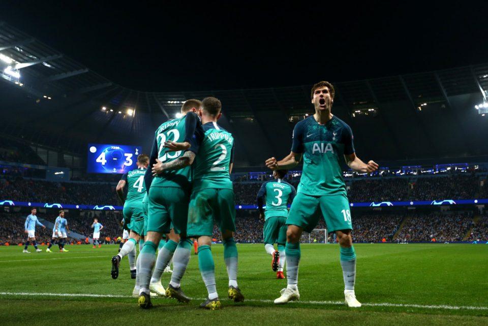 Spurs make team first Champions League semifinal since 1961/62
