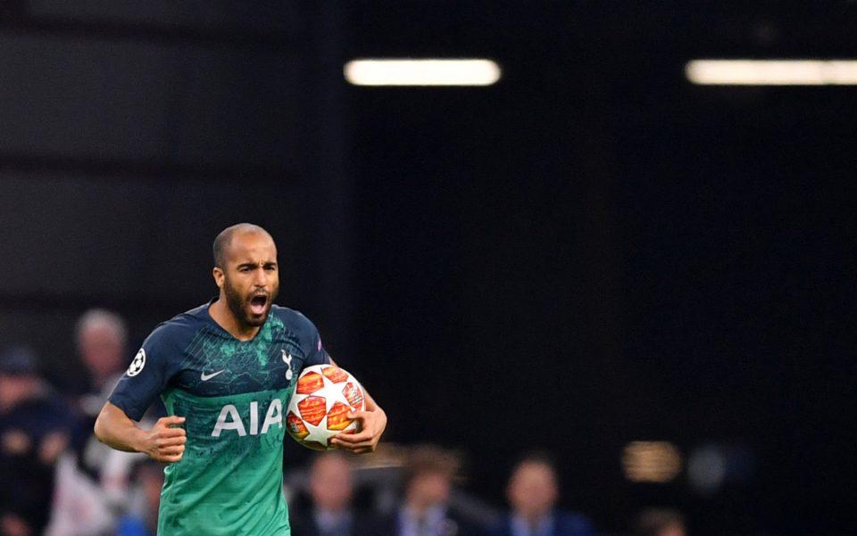 Lucas Moura hat trick against Ajax