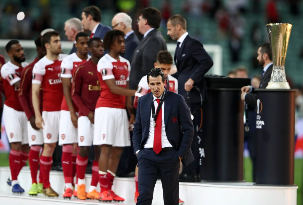 Unai Emery Europa League Final