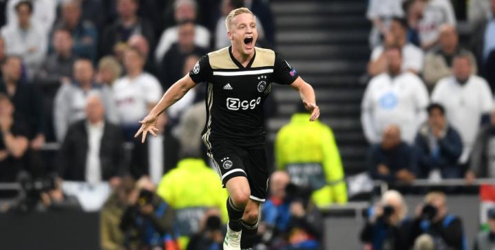Real Madrid are interested in signing Ajax sensation Donny van de Beek