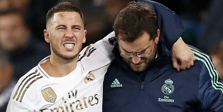 Eden Hazard expected to miss El Clasico after suffering a fractured ankle