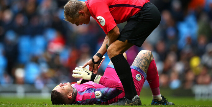 Ederson out for Sunday's clash against Liverpool, Van Dijk fit
