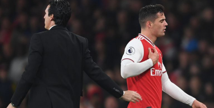 Granit Xhaka issues an official apology in a penned letter to Arsenal fans