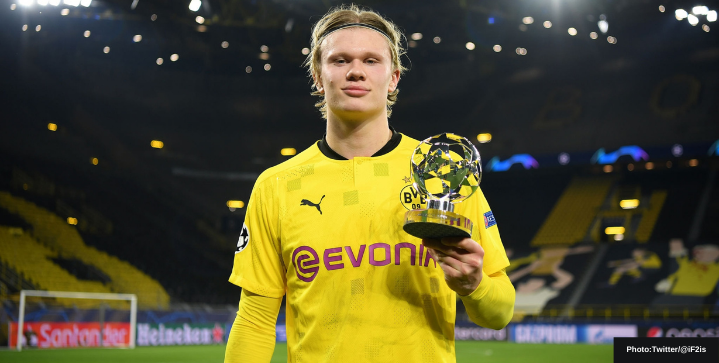 Erling Haaland's Top 5 goals for Borussia Dortmund in Champions League