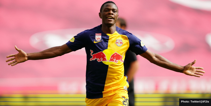 Leicester secure Patson Daka from RB Salzburg as Vardy's future replacement