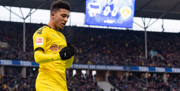 Liverpool are favorites to sign Jadon Sancho in January transfer
