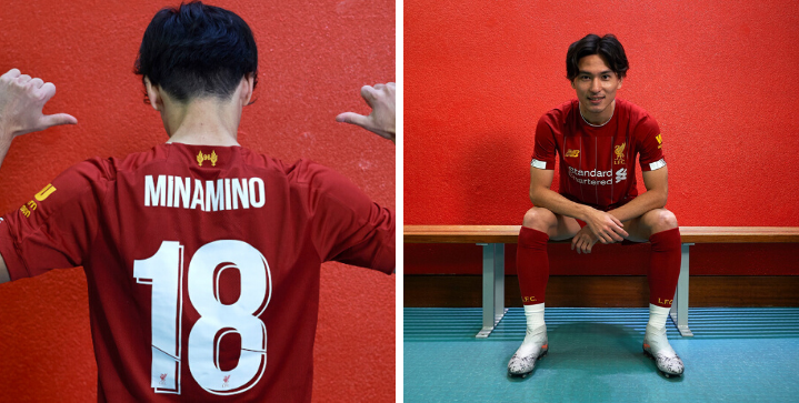 Liverpool confirm signing of Japanese starlet Takumi Minamino