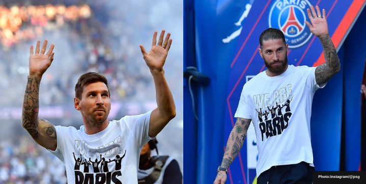Messi and Ramos prepared to make their PSG debut this Sunday against Reims