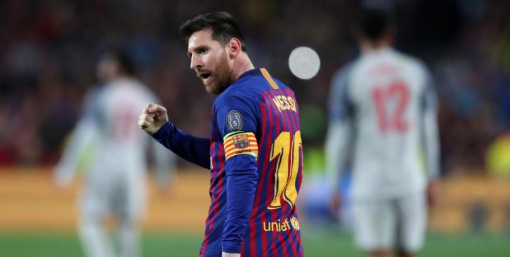 Messi scores his 600th club goal