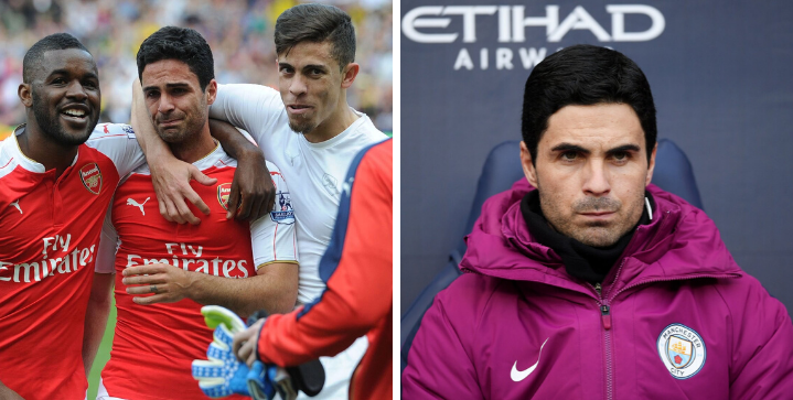 Mikel Arteta exits Man City with Arsenal arrival imminent