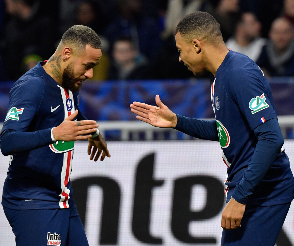 PSG to keep Mbappe at all costs, willing to sell Neymar