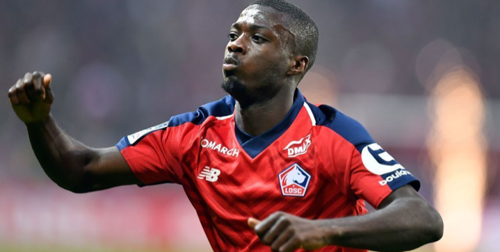 Arsenal close in on club-record signing Nicolas Pepe for €80 million