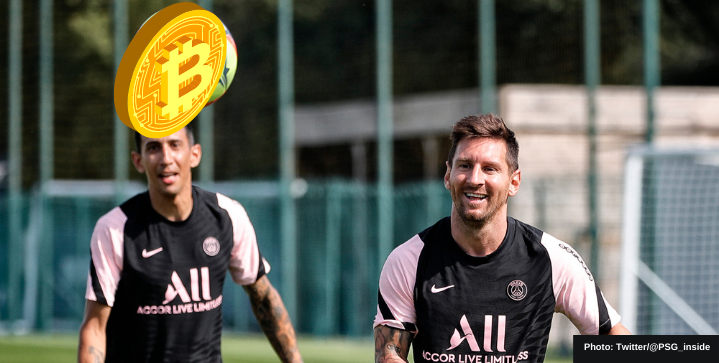 PSG to pay part of Lionel Messi's salary in cryptocurrency