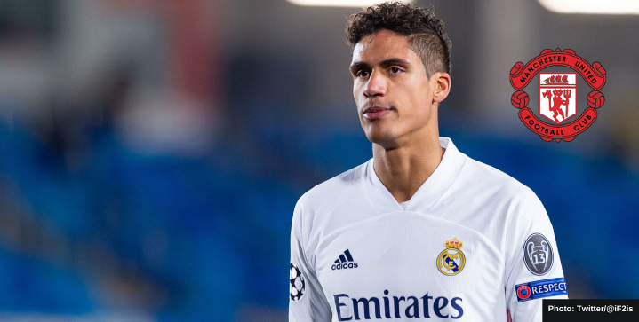 Raphael Varane edging closer to Manchester United move, offer imminent