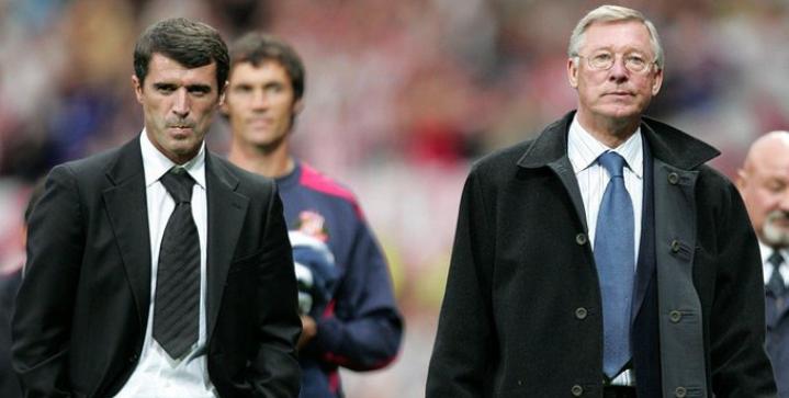 Roy Keane renews rift with old boss Sir Alex Ferguson