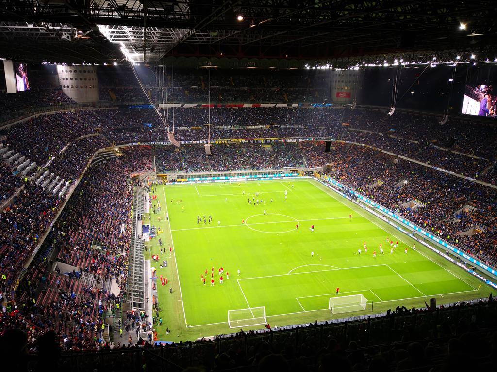 Stadio Giuseppe Meazza, Inter:AC Milan