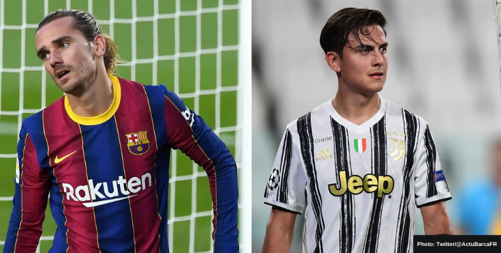 Transfer Rumors - Barcelona offer Griezmann in exchange for Dybala