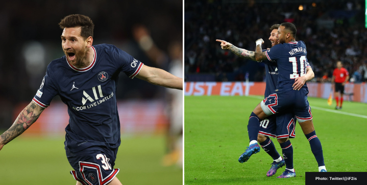 Watch Lionel Messi net his first goal for PSG in 2-0 win vs. Man City