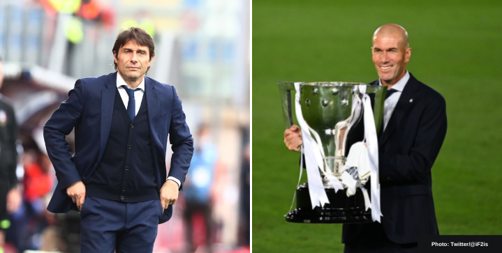 Zidane and Conte are frontrunners to replace Ole Gunnar Solskjær at Man United