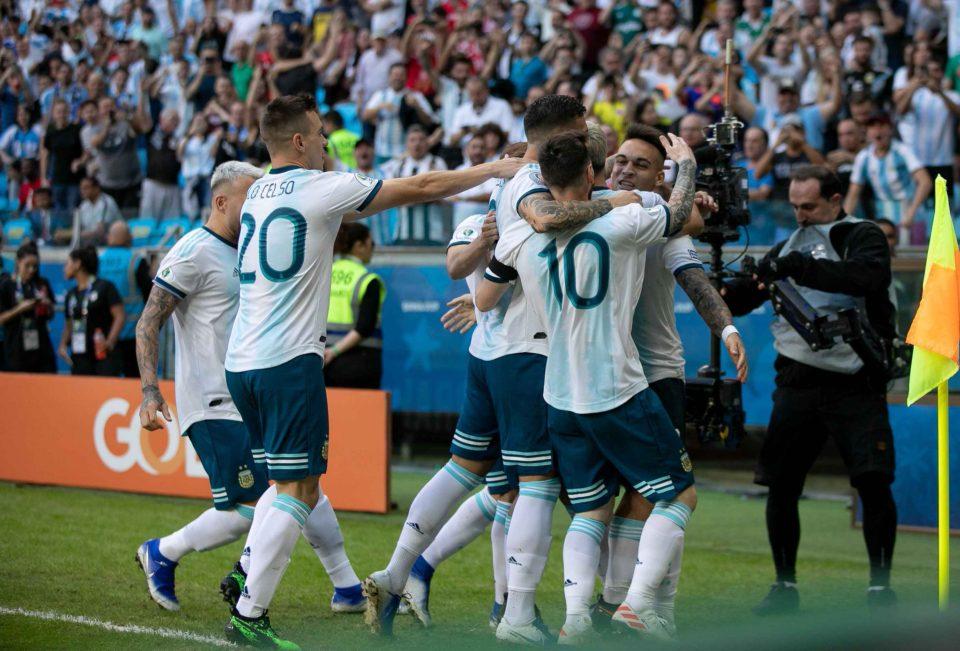arg advance Copa America quarterfinals