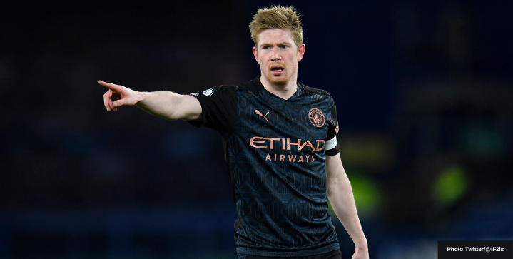 Kevin de Bruyne pens new contract with Manchester City until June 2025