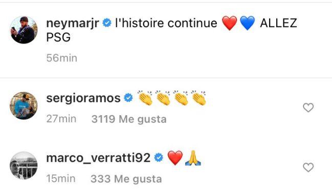Ramos applauds Neymar's new deal