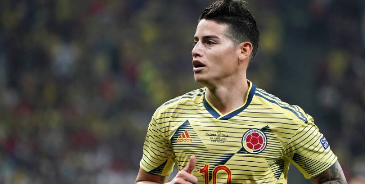 James Rodriguez eyes move to crosstown rivals Atletico Madrid