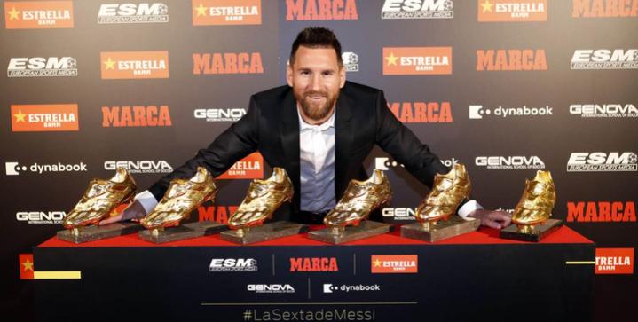 messi golden shoe 6