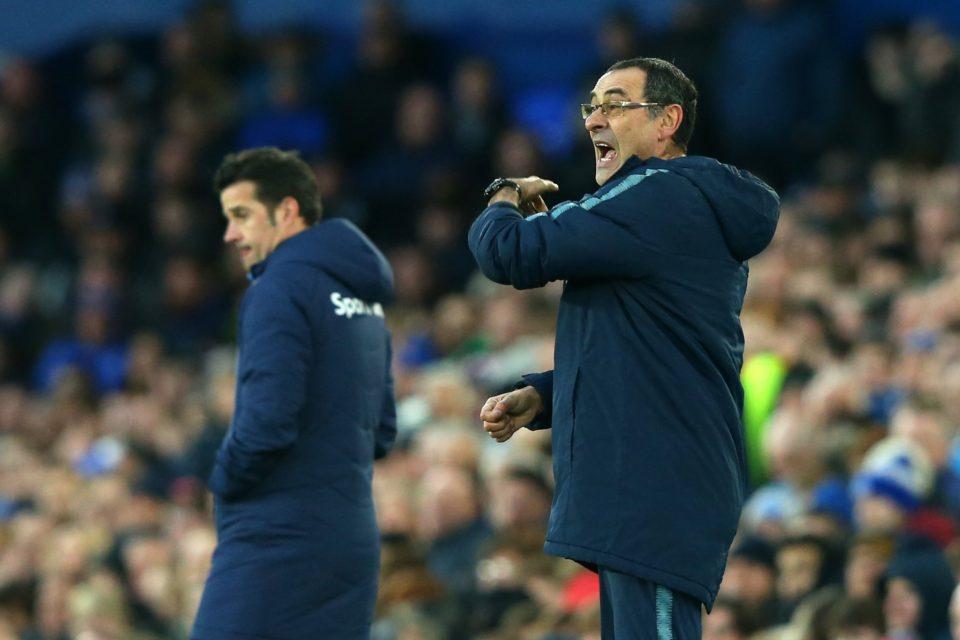 Image of Sarri on Chelsea sidelines