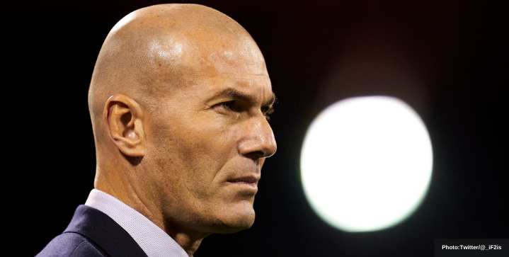 zidane out as real coach second time